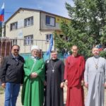 Lutheran pastor participated at the meeting in the International youth camp