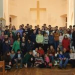Steinar and Youth Group Visit Church in Vyborg
