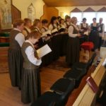 Ingrian Choir Sings in Church and Reaches Out to Community in Chalna, Karelia