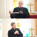 Bishop Kugappi and Bishop Elect Laptev Congratulate Petrozavodsk Congregation on 50th Anniversary