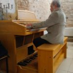 Church in Kolpany Gets New Electronic Organ