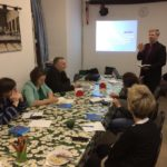 Bishop Laptev and Rev. Subbotin Teach in Moscow