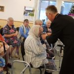 Rev. Ivan Hutter Continues to Lead Worship in Seniors' Home