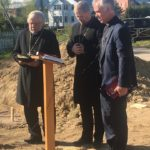 Ministers and Laypeople Pray for New Construction at TICI, Bury Time Capsule
