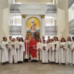 New Confirmations at St. Mary's Church, St. Petersburg