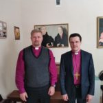 Bishop Laptev and Archbishop Brauer Meet in Moscow